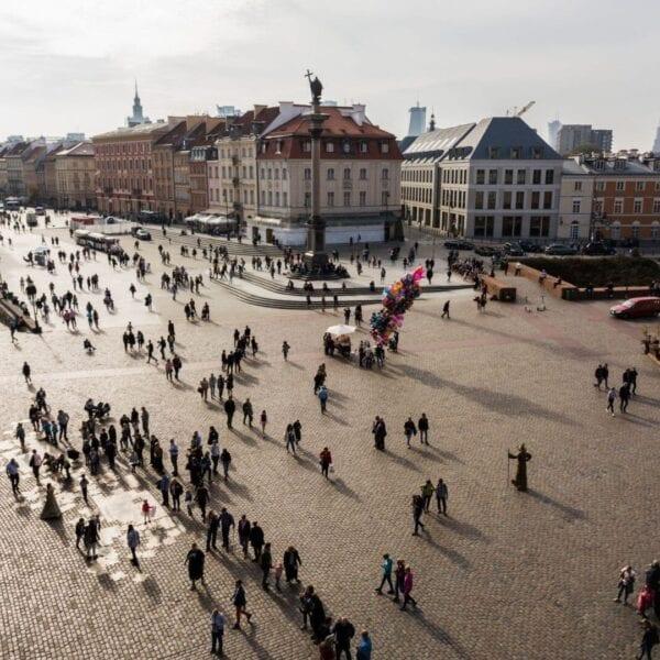 Zamek Królewski w Warszawie akcja promocyjna